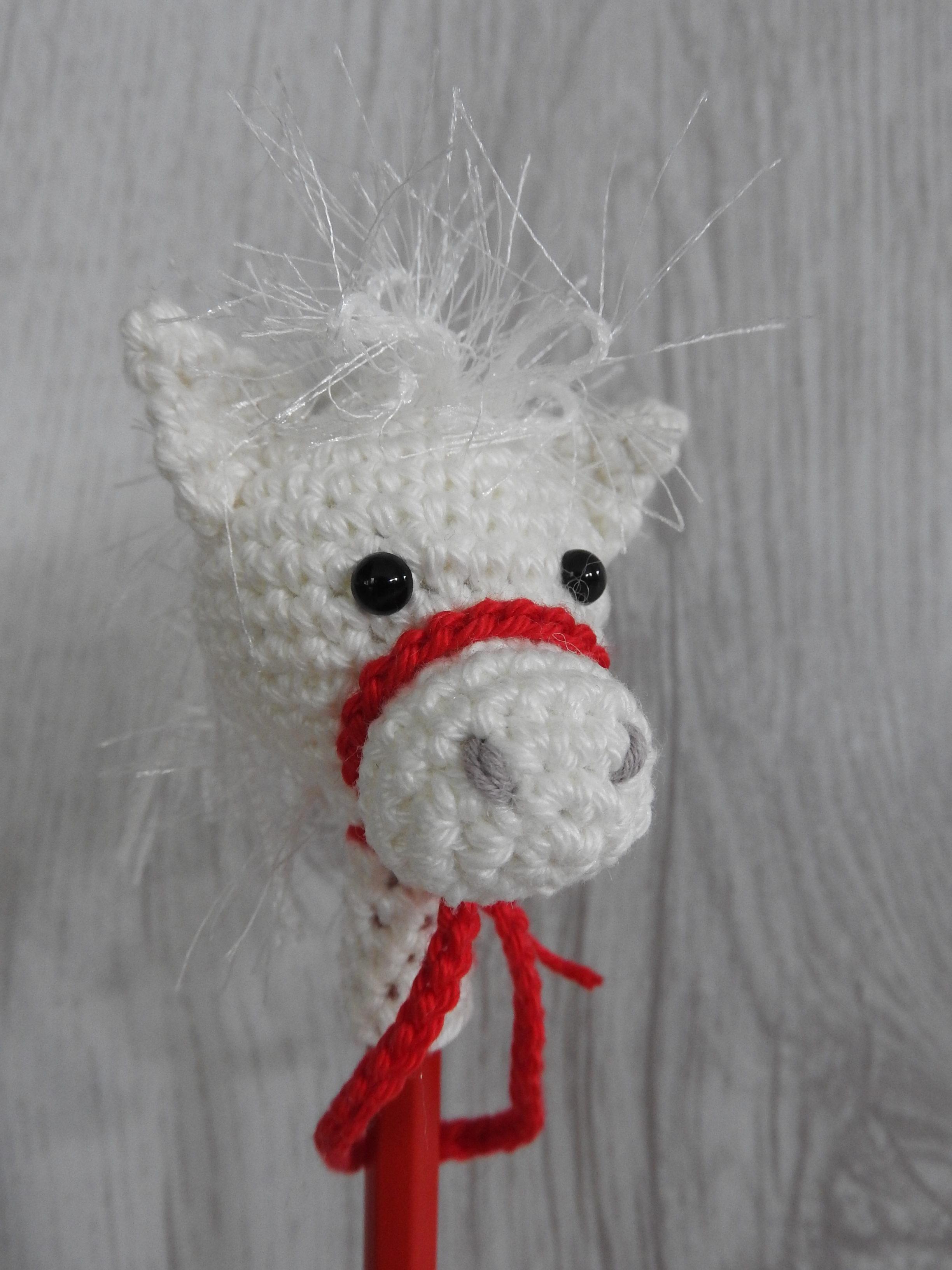 Paard Van Sinterklaas Op Je Potlood Aan De Haak