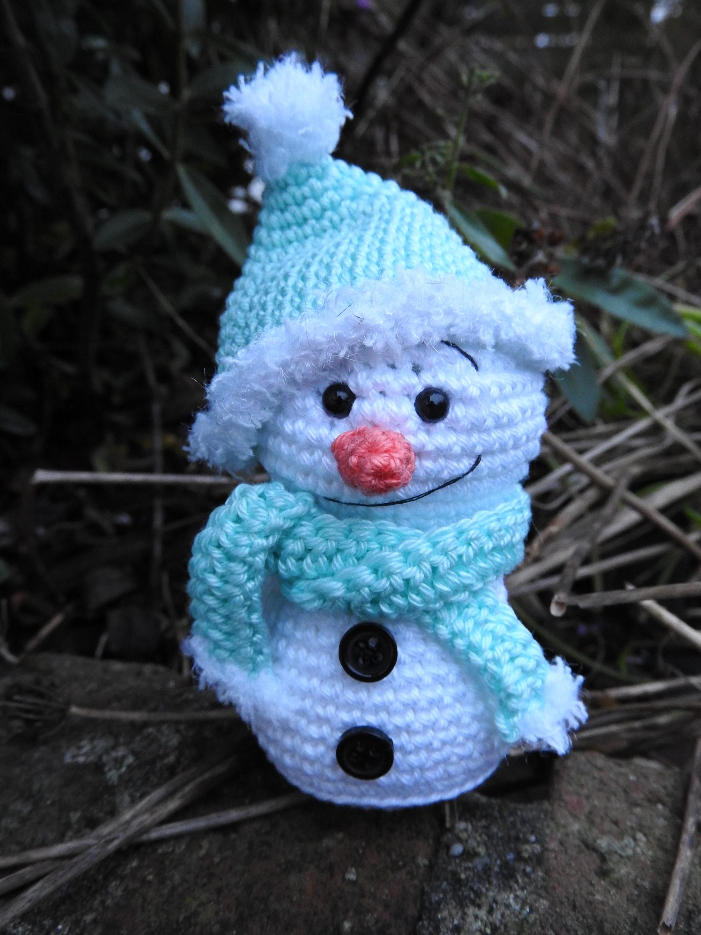 Sneeuwpopje Haken Aan De Haak