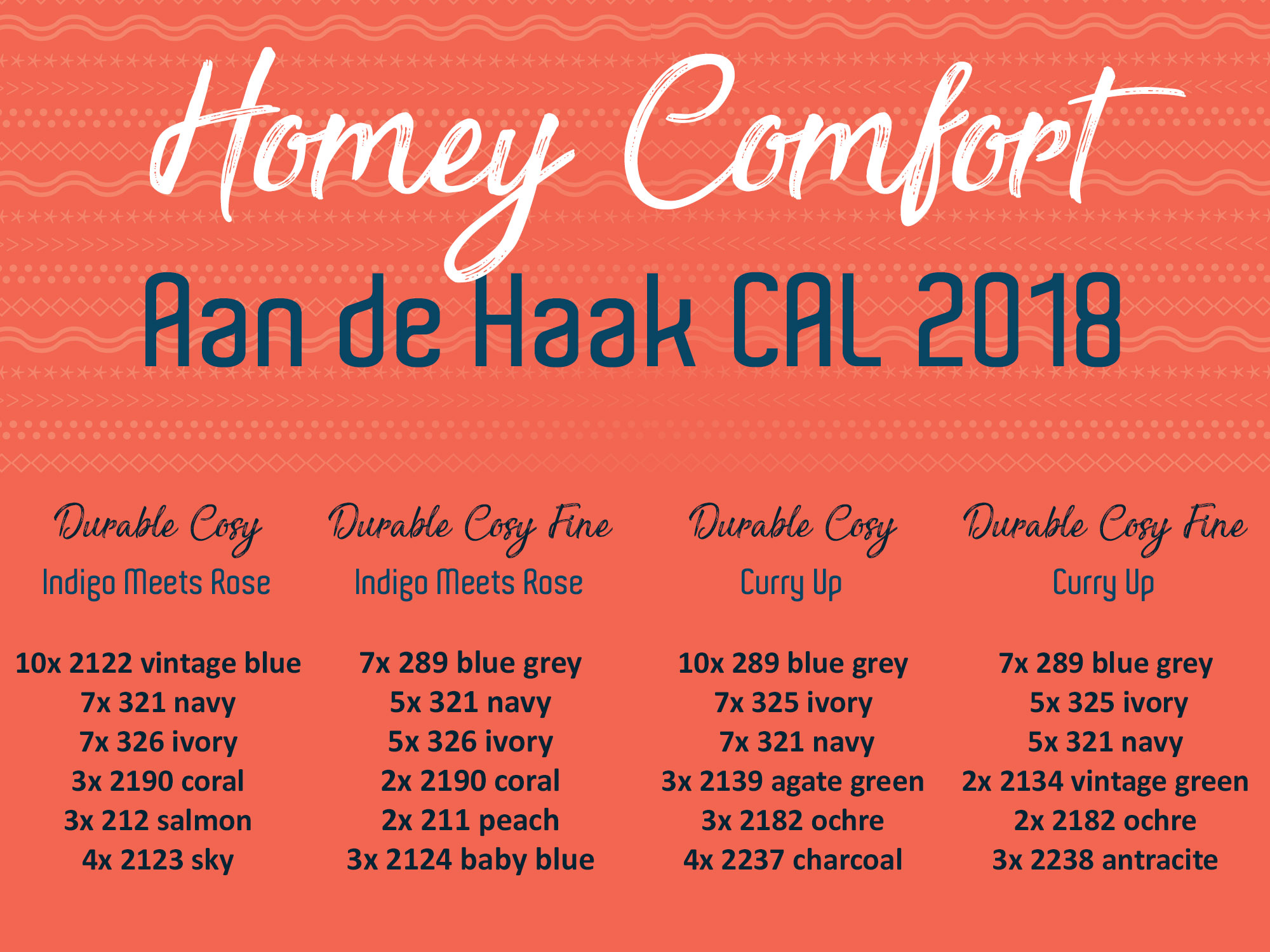 Aan De Haak Cal Homey Comfort