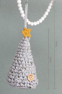 Aan de Haak Sparkly XMAS Kerstboom