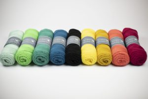 De 9 kleuren van Aan de Haak CAL Picknickkleed