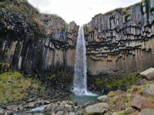 Svatifoss waterval IJsland