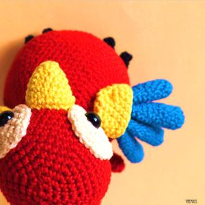 Polly de papegaai patroon